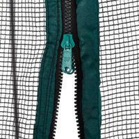 Trampolín para tumbling Domyos 300 cm hasta 130 kg Octogonal Verde