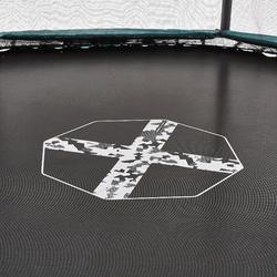 Trampoline 300 achthoekig