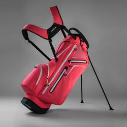 Golf Standbag Light mit Dreifuß rosa