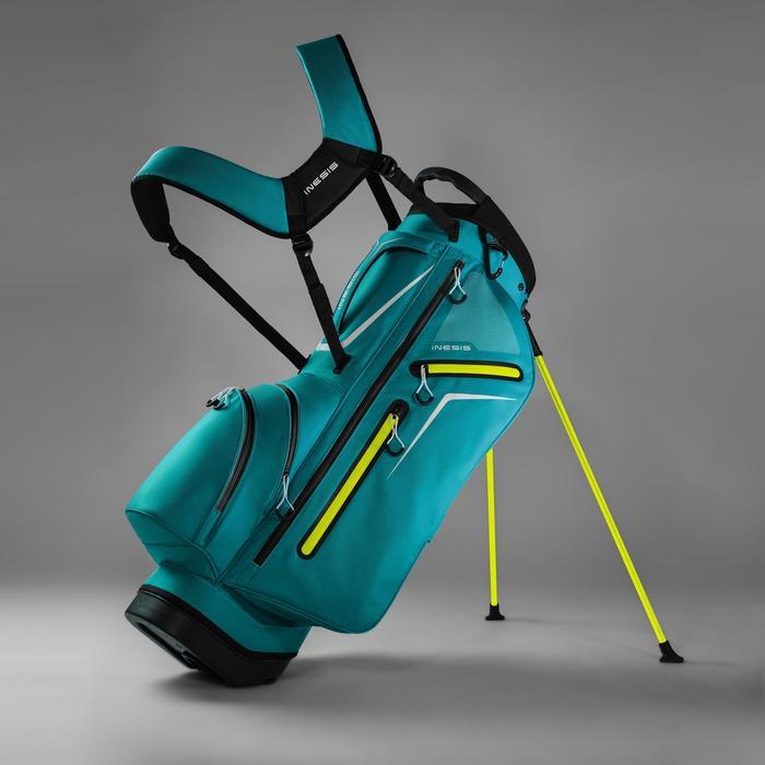 Standbag voor golf Light turquoise