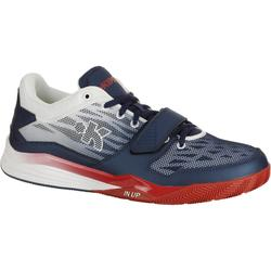 Fast 500 Adult Intermediate Low Basketball Shoes - Blue/Orange