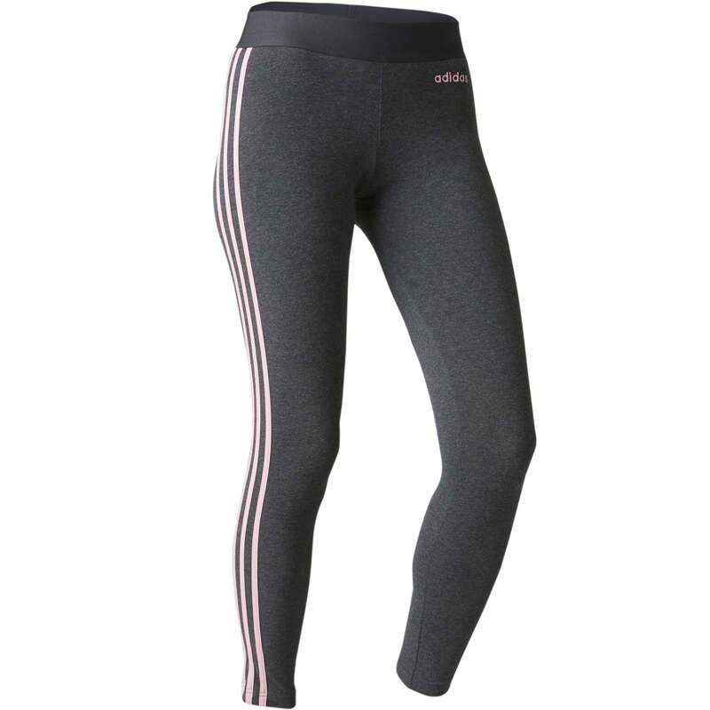 WOMAN T SHIRT LEGGING SHORT - Women's Leggings 3S - Grey ADIDAS