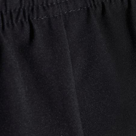 W500 Celana Pendek Gym Breathable  Anak Perempuan - Hitam