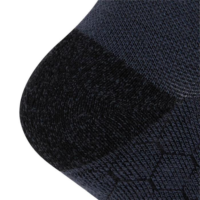 Laufsocken High warm Kiprun schwarz