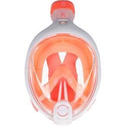 兒童款浮潛面鏡Easybreath(6到10歲/XS號)-橘色