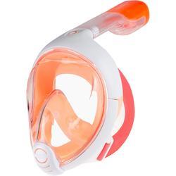 Schnorchelmaske Easybreath Junior 6–10Jahre XS orange
