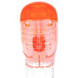 Schnorchelmaske Easybreath 500 Junior 6–10 Jahre orange/rosa