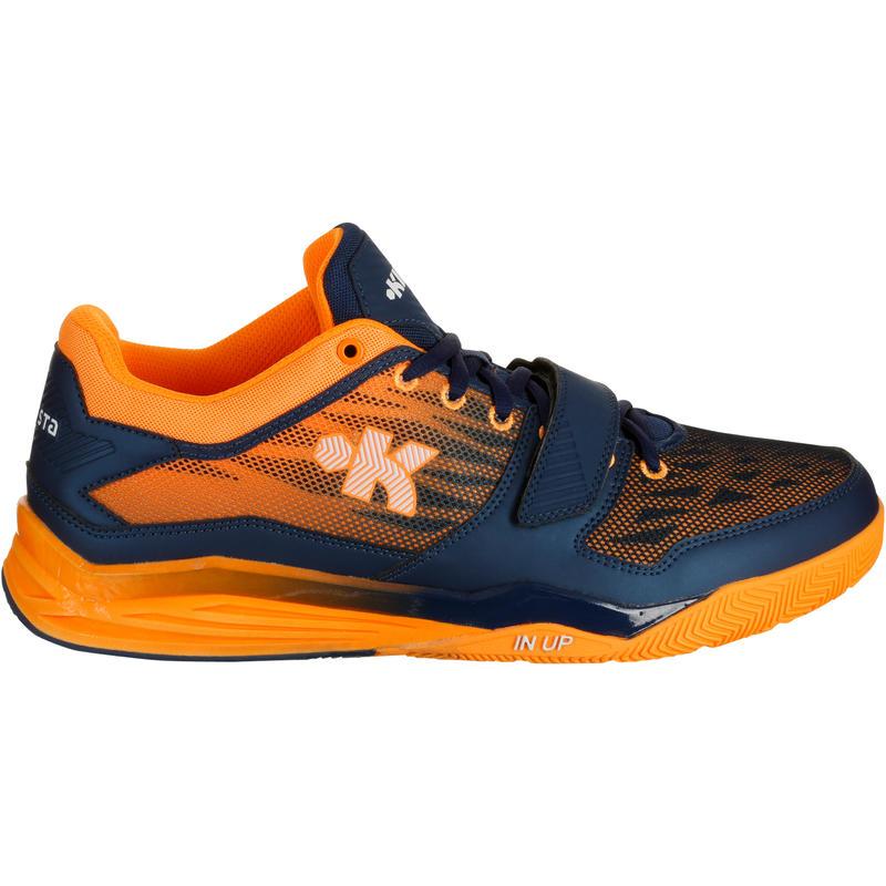 Fast 500 Adult Basketball Shoes - Navy Blue Orange