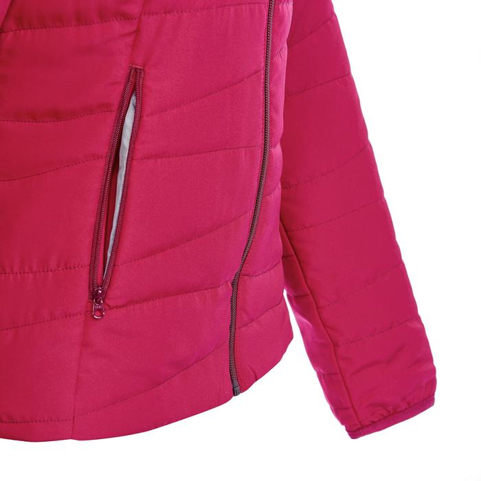 Doudoune randonnée nature femme NH100 rose framboise