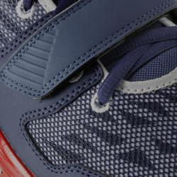 CHAUSSURE BASKETBALL TIGE BASSE FAST 500 ADULTE CONFIRME BLEU BLANC ROUGE