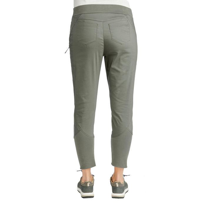 Pantalon randonnée nature NH500 Fit kaki femme
