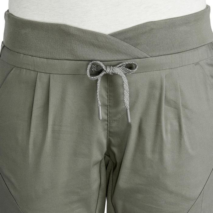 女款郊野健行長褲NH500 Slim
