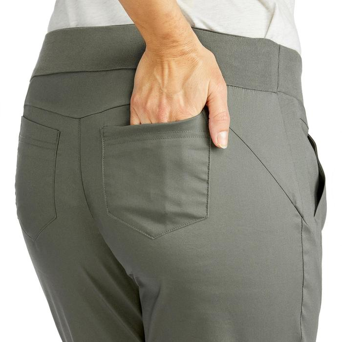 Damesbroek voor natuurwandelen NH500 Slim