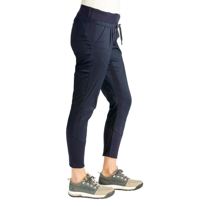 Wanderhose NH500 Fit Damen marineblau für Naturwanderungen