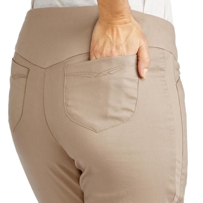 Pantalon randonnée nature NH500 regular beige femme