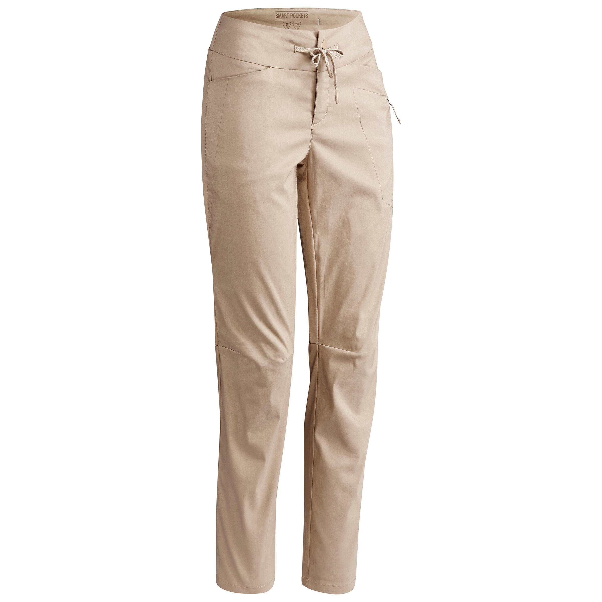 Pantalon REGULAR NH500 damă