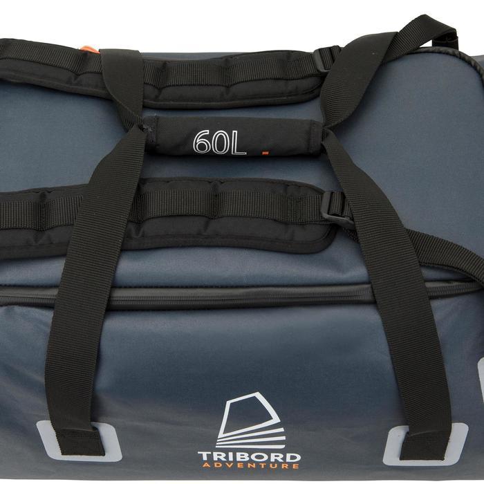 Wasserfeste Tasche Sailing 60l grau