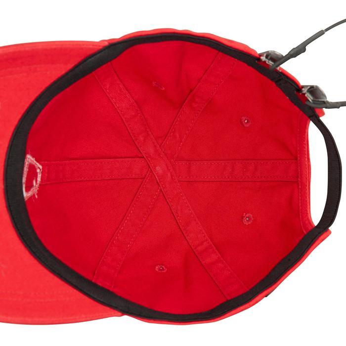 Gorra Barco Vela Tribord Sailing 100 Adulto Rojo Protección Solar