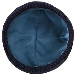 Bonnet chaud coupe vent voile enfant SAILING 100 Bleu foncé