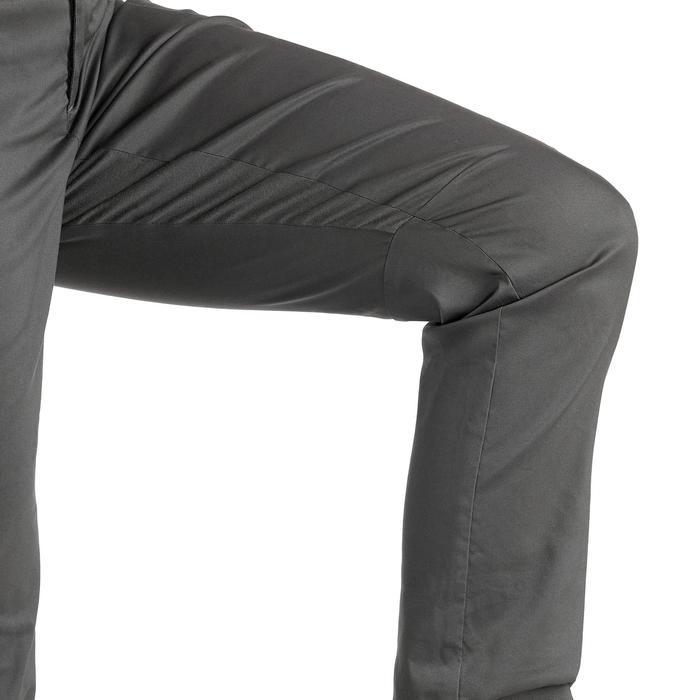 女款鄉村健行長褲NH500 Regular-灰色