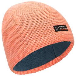 成人款保暖防水航海毛帽SAILING 100-珊瑚紅