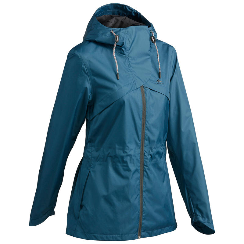 Women's Raincoat NH500 - Turquoise