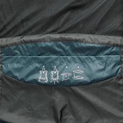 Wanderjacke Naturwandern NH500 wasserdicht Damen türkis