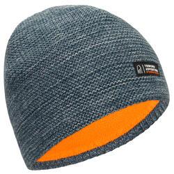成人款保暖防水航海毛帽SAILING 100-刷色灰