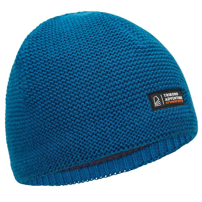 Bonnet chaud coupe vent voile adulte SAILING 100 Bleu