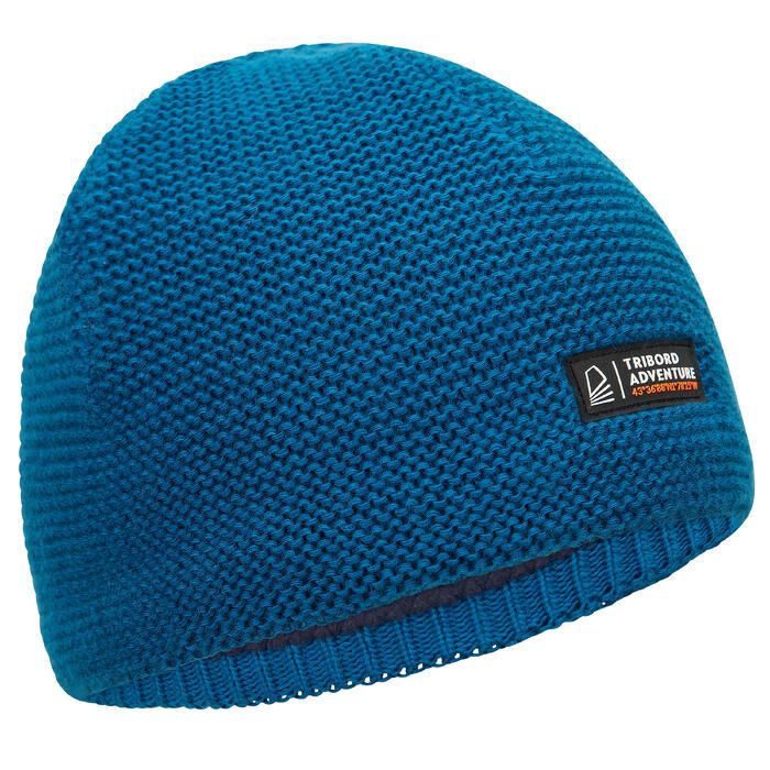 Bonnet chaud voile SAILING 100 Adulte Bleu