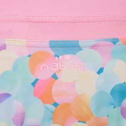 游泳下裝 - 女童兩件式圓點泳裝 - 粉紅色