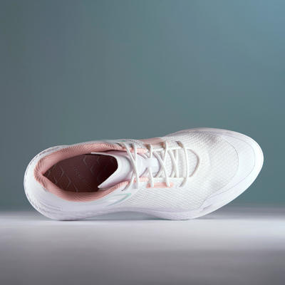 WOMEN'S GOLF SHOES DRY GRIP WHITE