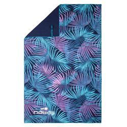 Printed Microfibre Towel, L
