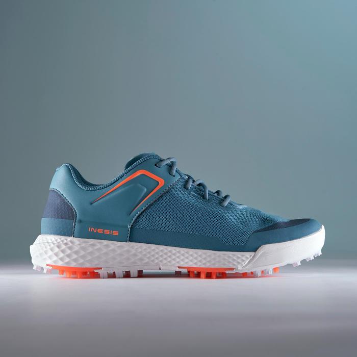Golfschoenen dames Grip Dry turquoise