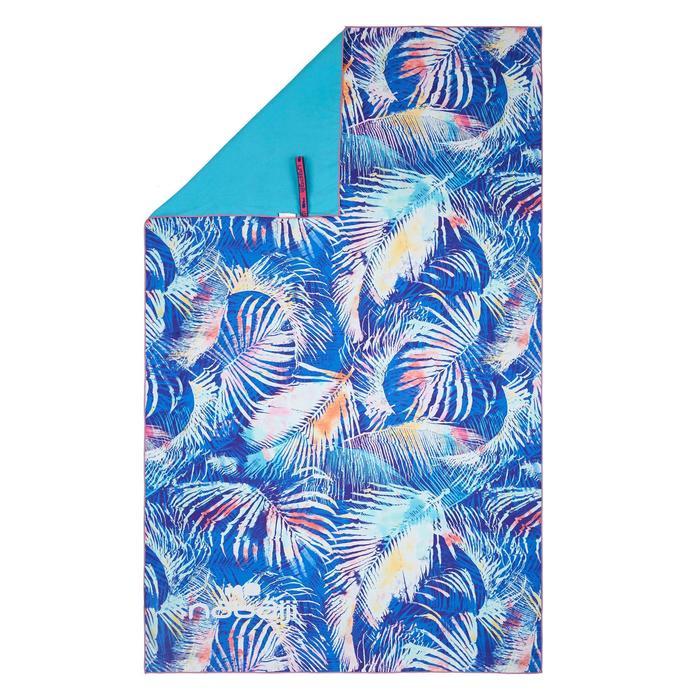印花微纖維毛巾,L號