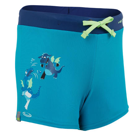 100 PEP BOY'S SWIMMING BOXERS - DRAGON GREEN BLUE