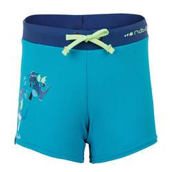 100 PEP BOY'S SWIMMING BOXERS - DRAGON GREEN BLUE