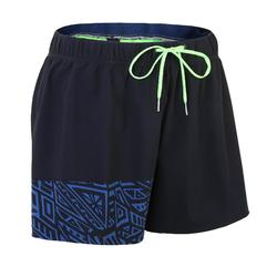 MEN'S SHORT SWIMSHORTS ASYM MAO 100