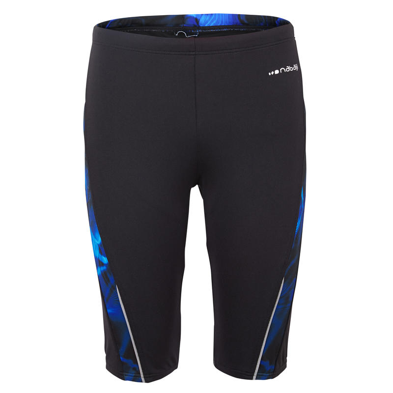 FIRST 500 MEN'S JAMMER SWIMSHORTS - OIL BLUE