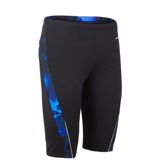 男款競賽泳褲FIRST 500 - 藍色