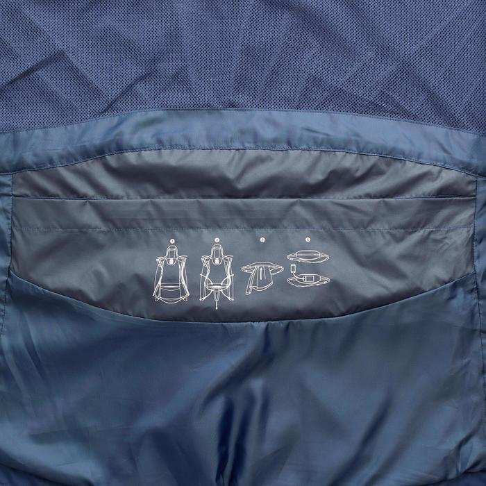 NH500 Women's Waterproof Walking Jacket – Grey