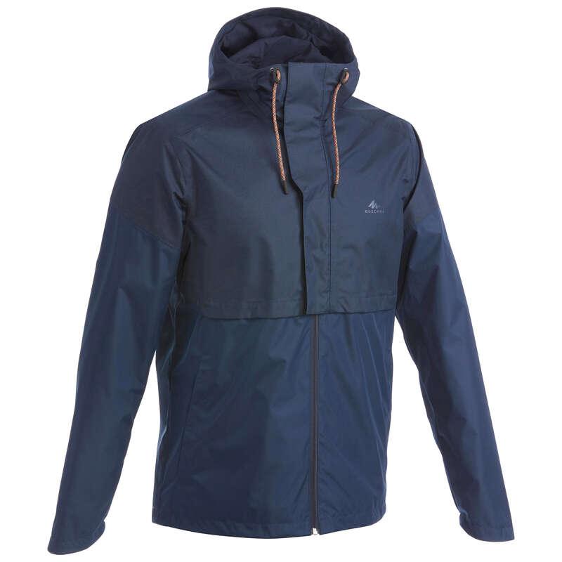 GIACCHE ESCURSIONE UOMO Sport di Montagna - Giacca uomo NH500 blu QUECHUA - Trekking uomo