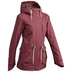 NH500 Protect Women's Waterproof Country Walking Parka Jacket - Maroon