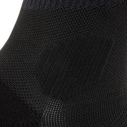 Laufsocken Kompression Kiprun schwarz/gelb