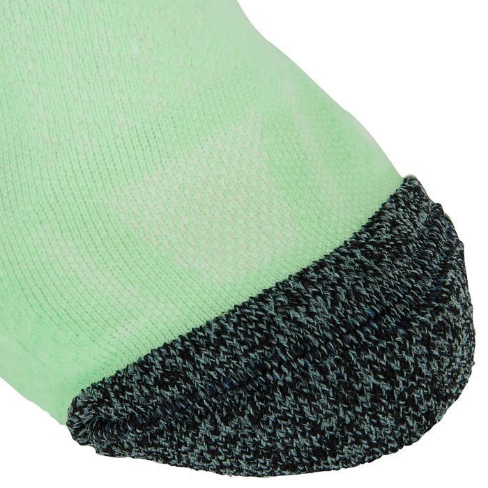 Dunne onzichtbare sokken Kiprun groen