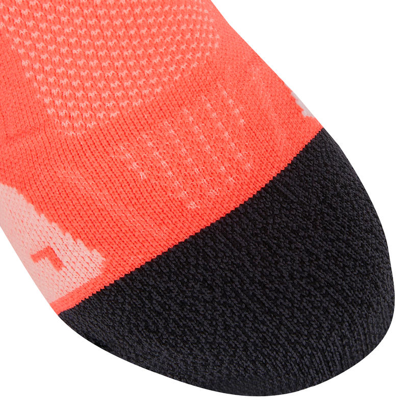 KIPRUN THIN INVISIBLE SOCKS PINK 19
