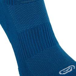 Halfhoge sokken comfort 2 paar blauw