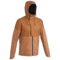 NH500 Men's Waterproof Jacket - Hazelnut