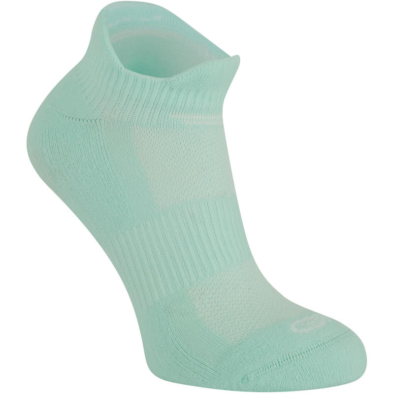 Invisible Comfort Running Socks 2-Pack - Mint