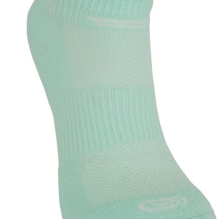 CHAUSSETTES DE RUNNING INVISIBLES CONFORT MENTHES X2